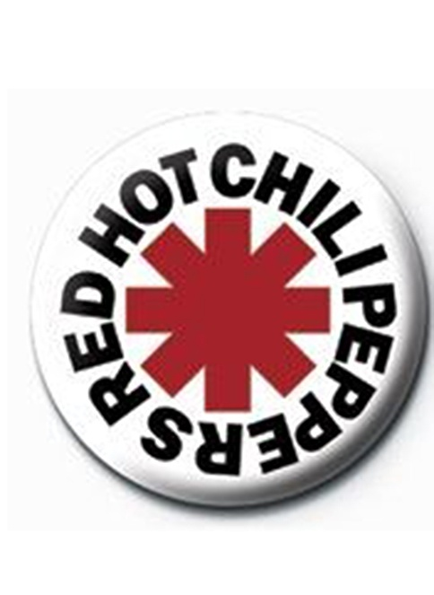 Pyramid International Rozet - Red Hot Chilli Peppers - Logo Renkli